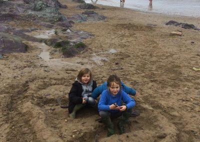 Beach fun at Polzeath